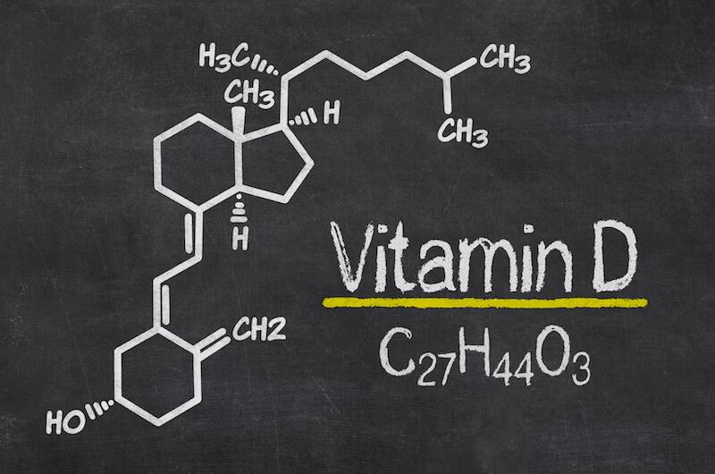 Vitamin D chemische Formel