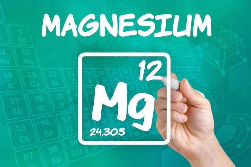 Elementarzeichen Magnesium