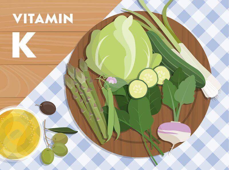 Vitamin K2 - Gemüse